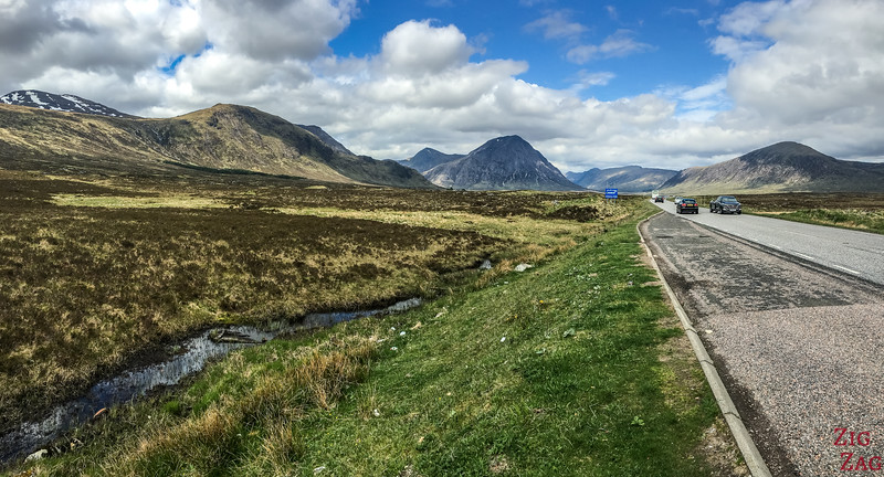 Buachaille Etive Mor - from the road