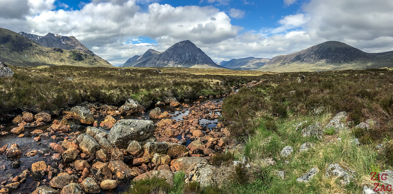 Buachaille Etive Mor - from the Ski resort road 4