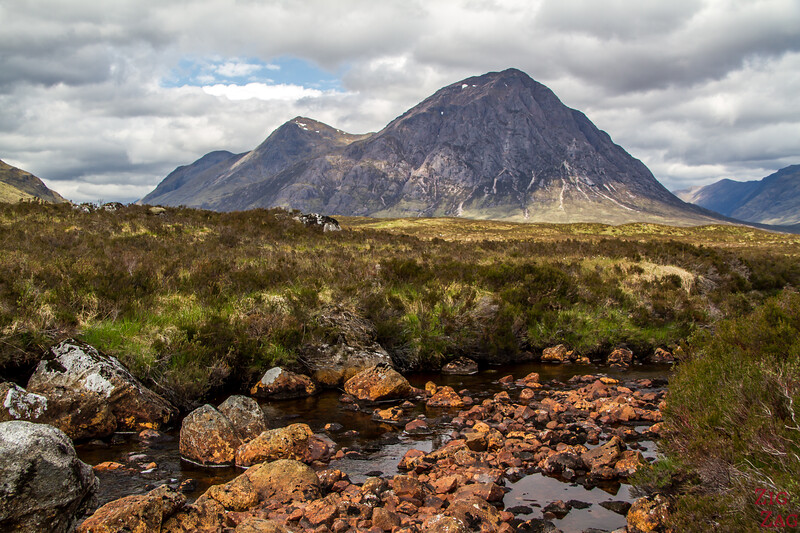 Buachaille Etive Mor - from the Ski resort road 5