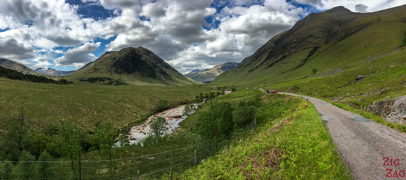 Driving Glen Etive Scotland 3