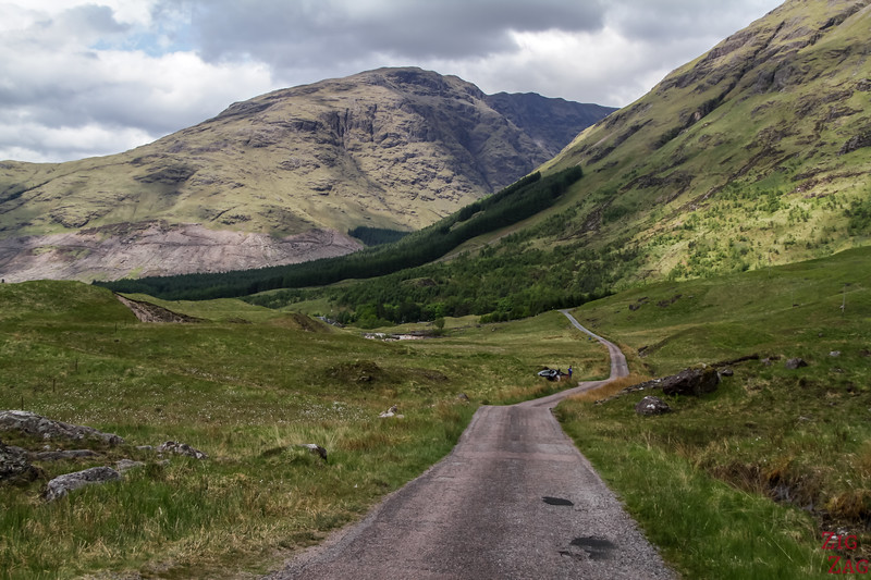 Driving Glen Etive Scotland 5