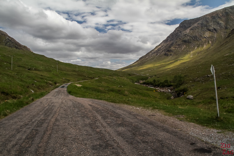Driving in Scotland on Single Track Roads 2