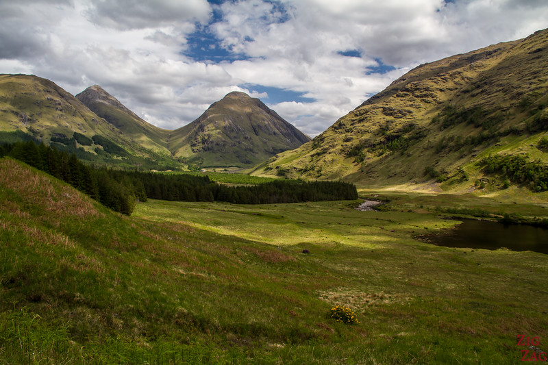 Driving Glen Etive Scotland 6