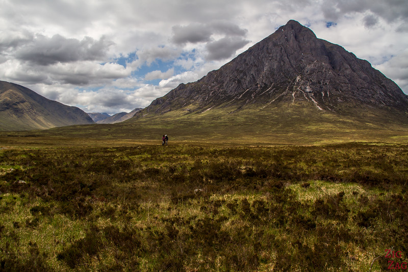 Entrance to Glen Etive - Buachaille Etive Mor