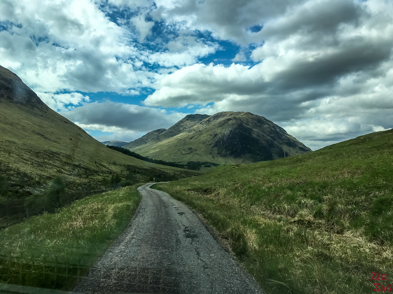 Conduire en Ecosse - Single Track Roads 3