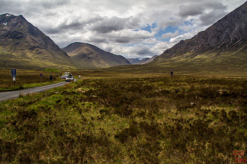 Entrance to Glen Etive - inviting road