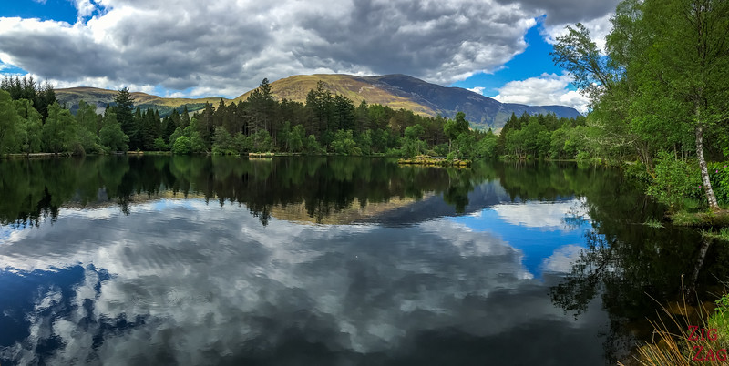 Bilder Schottland Landschaft - Glencoe Lochan