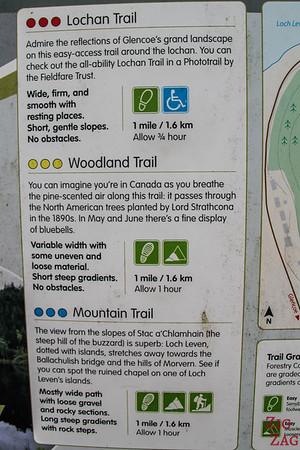 Glencoe Lochan Trail - Easy walk Glencoe 2