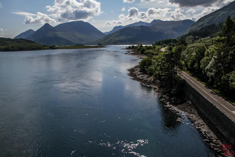 Loch Leven Glencoe Scotland Bridge 2