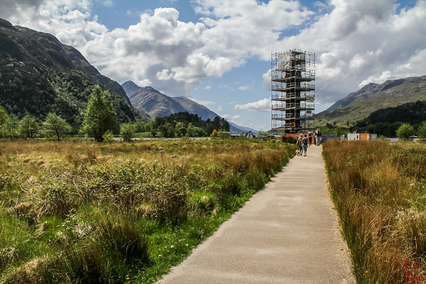 Road to the isles Scotland - Glenfinnan Monument Loch Shiel 4