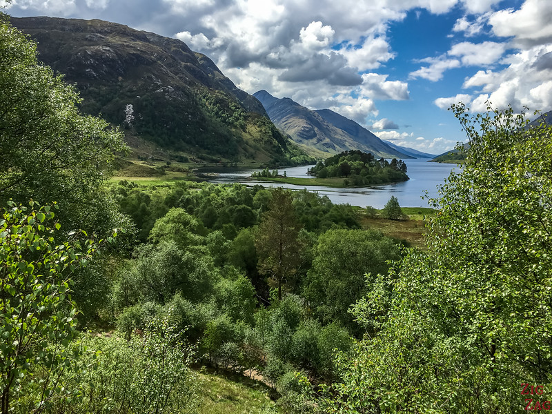 Road to the isles Scotland - Glenfinnan Viewpoint Loch Shiel 1