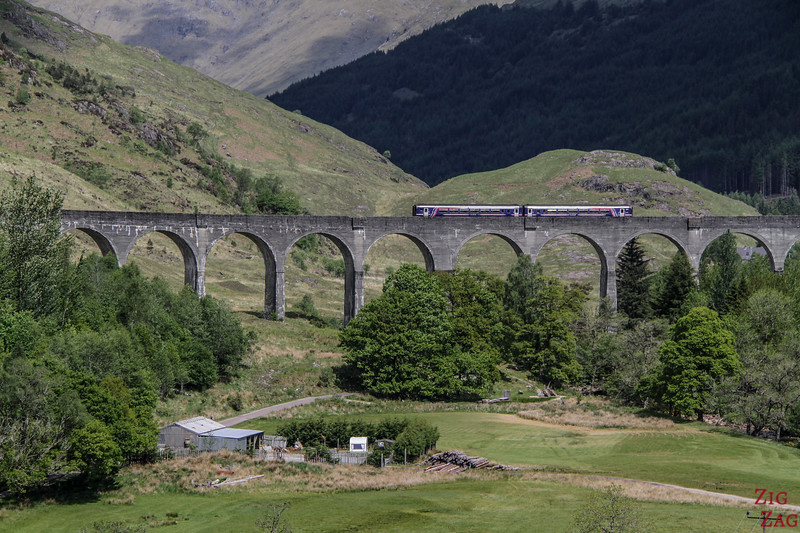 Road to the isles Scotland - Glenfinnan Viaduct 1