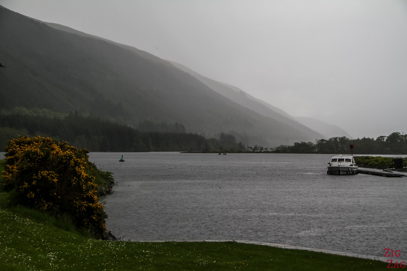 Caledonian Canal and the great glen - Loch Lochy 4