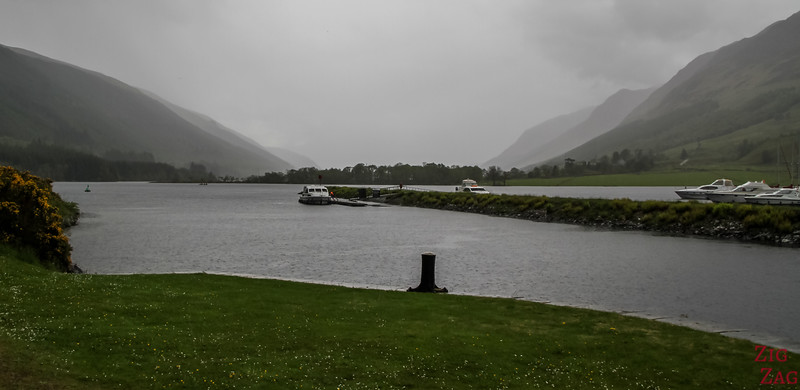 Caledonian Canal and the great glen - Loch Lochy 3