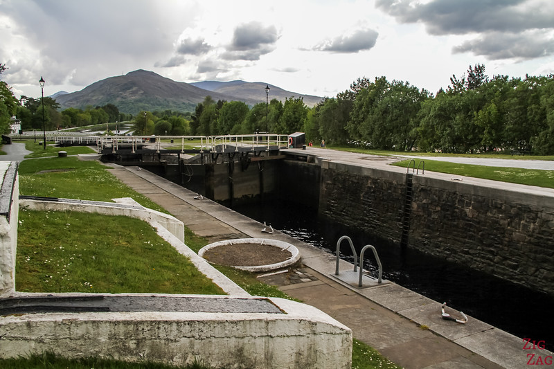 Neptune Staircase Caledonian Canal 1