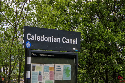 Caledonian Canal Sign