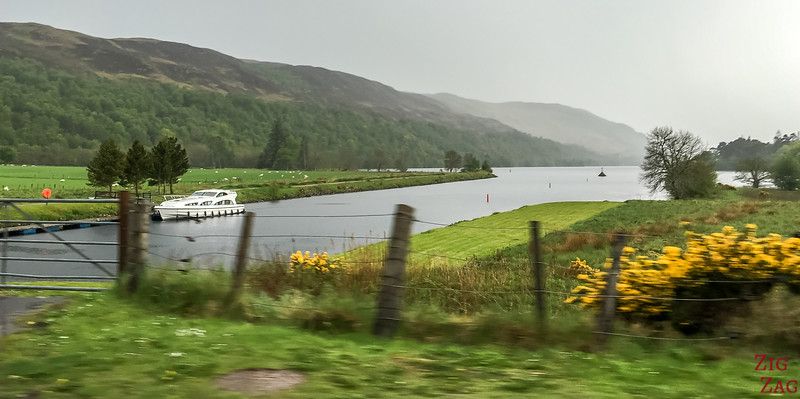 Caledonian Canal and the great glen - Loch Oich 4