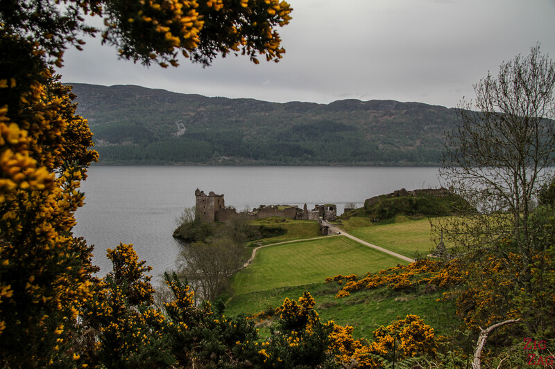 Urquhart Castle - view from the road 6