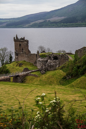 Urquhart Castle - view from Parking 3