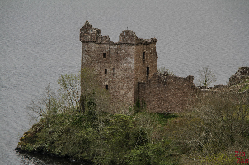 Urquhart Castle - view from the road 4