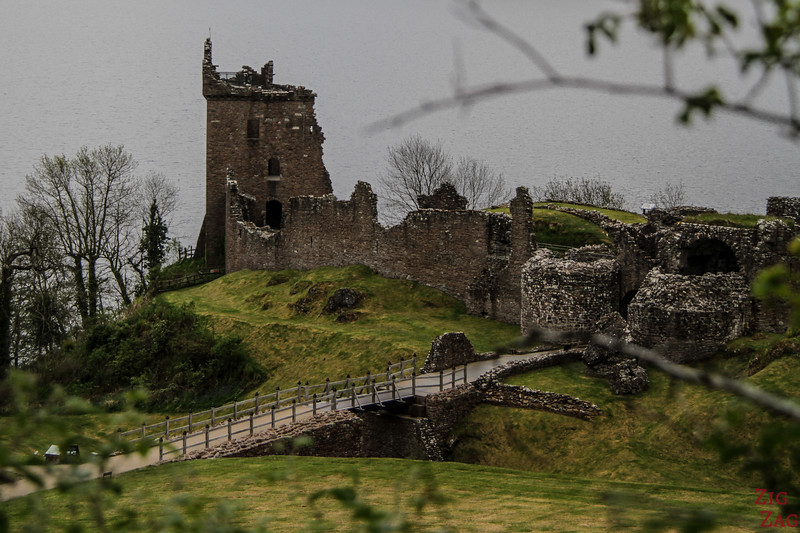 Urquhart Castle - view from Parking 4