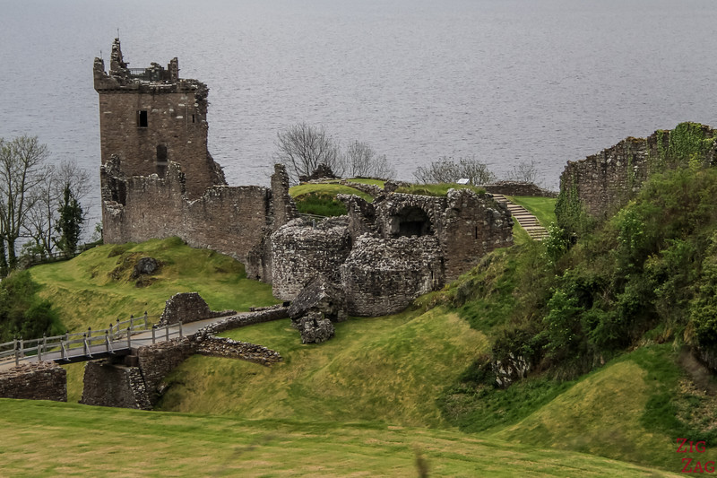 Urquhart Castle - view from Parking 2