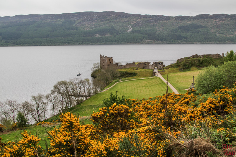 Urquhart Castle - view from the road 2