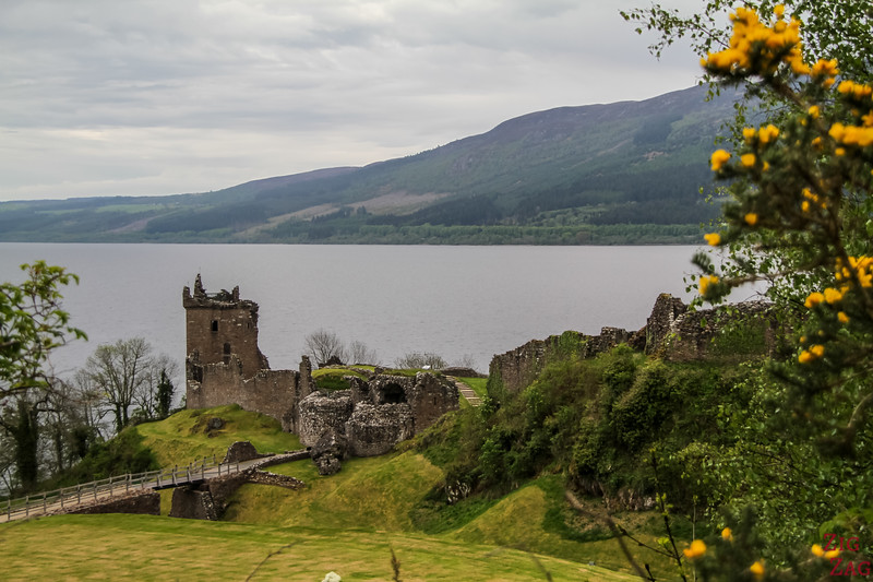 Urquhart Castle - view from Parking 1