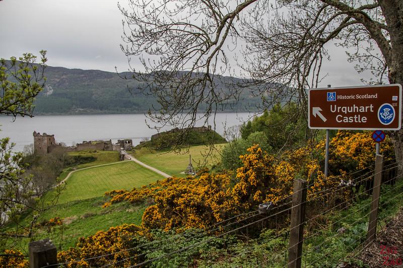 Access Urquhart Castle Scotland 2