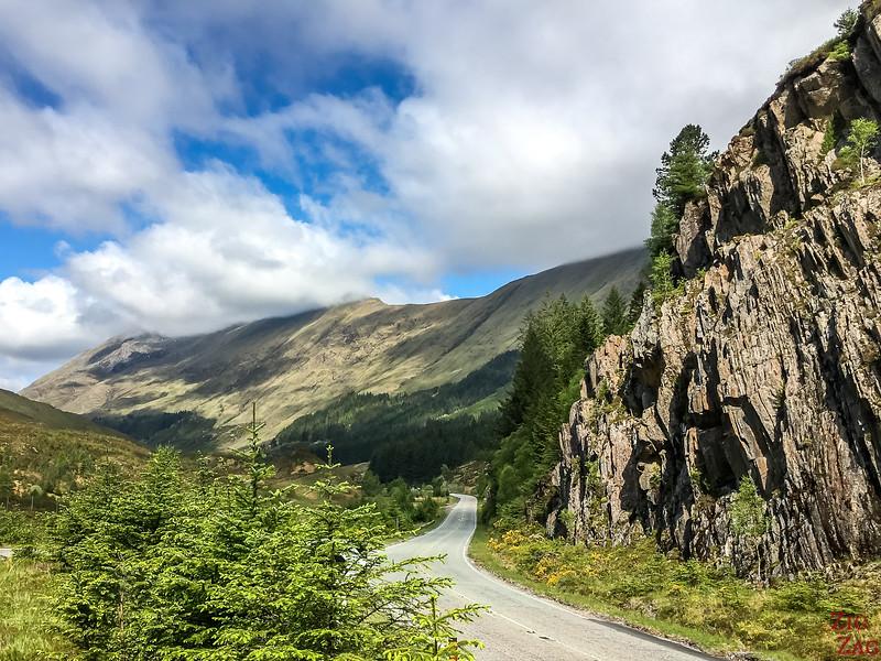 Between Loch Cluanie and Glen Shiel 4