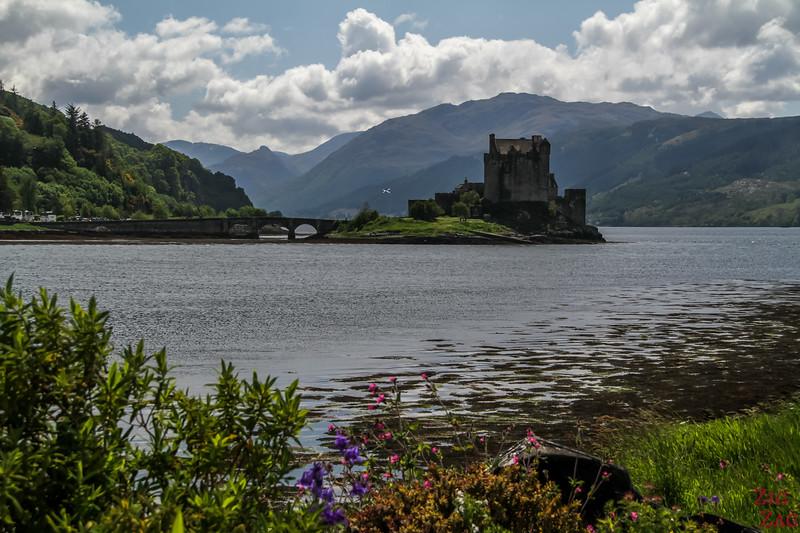 Paysage écossais - Eilean Donan Castle
