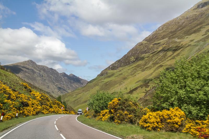 Glen Shiel Scotland - Five Sisters of Kintail 6
