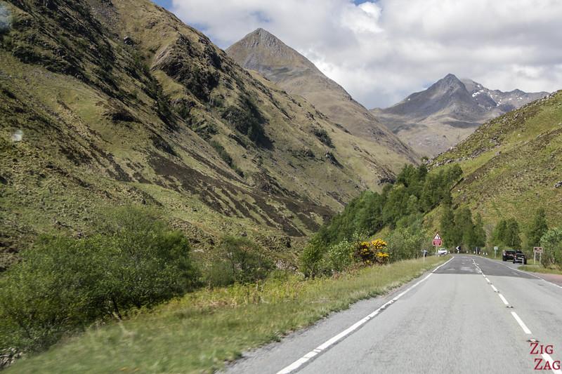 Glen Shiel Scotland - Five Sisters of Kintail 5