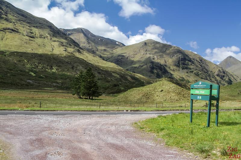 Glen Shiel Scotland - Five Sisters of Kintail 1