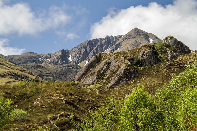 Glen Shiel Scotland - Five Sisters of Kintail 2