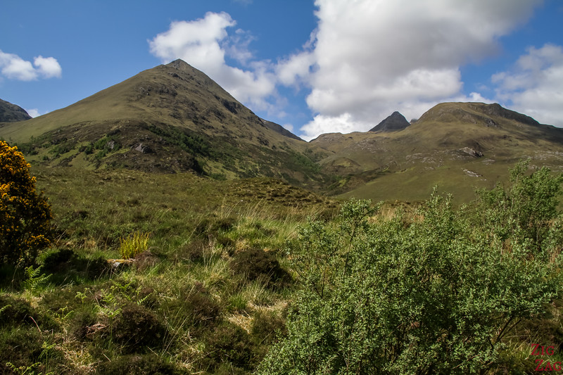Glen Shiel Scotland - Five Sisters of Kintail 8