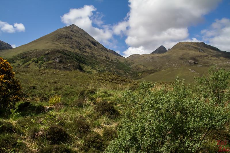 Glen Shiel Scotland - Five Sisters of Kintail 8