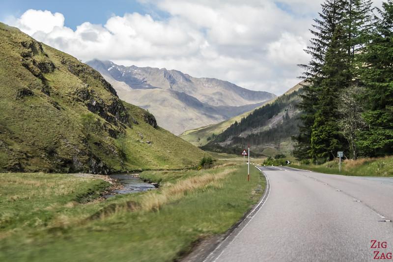 Glen Shiel Scotland - Five Sisters of Kintail 3