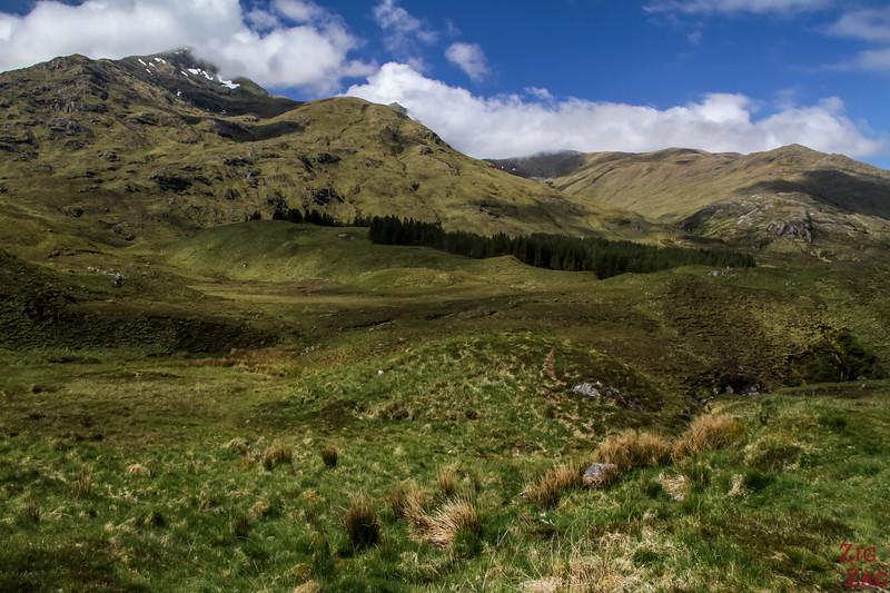 Between Loch Cluanie and Glen Shiel 3