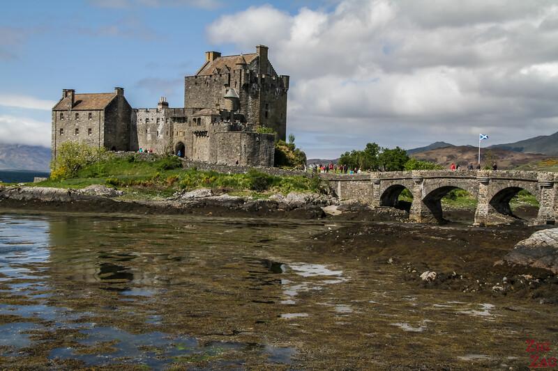 Vue Eilean Castle A