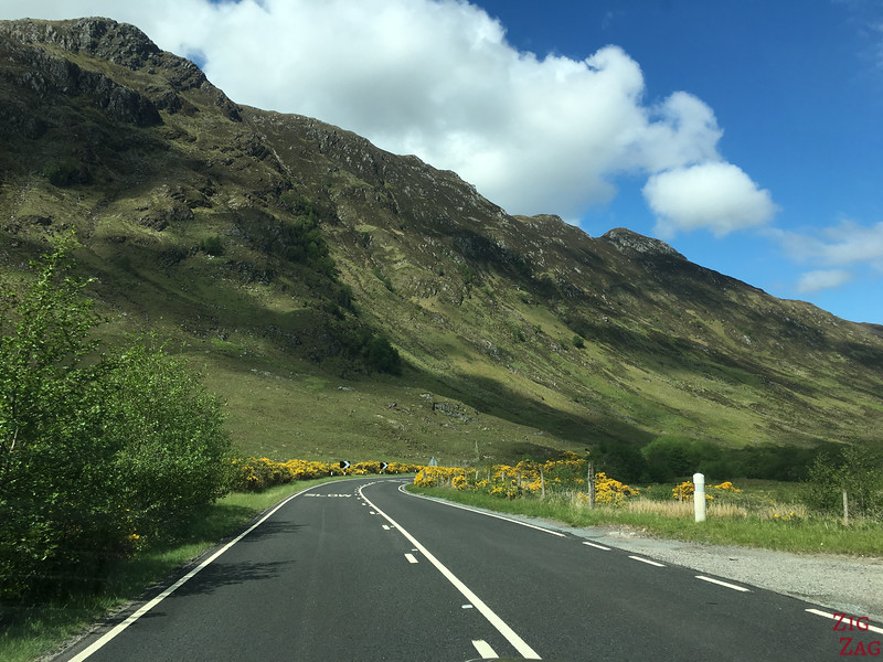 Glen Shiel Scotland - Five Sisters of Kintail 9