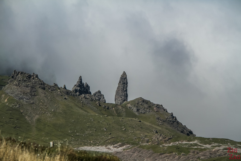 the Old Man of Storr Skye closer view  2