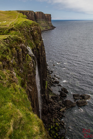 Kilt Rock Skye and Mealt Falls