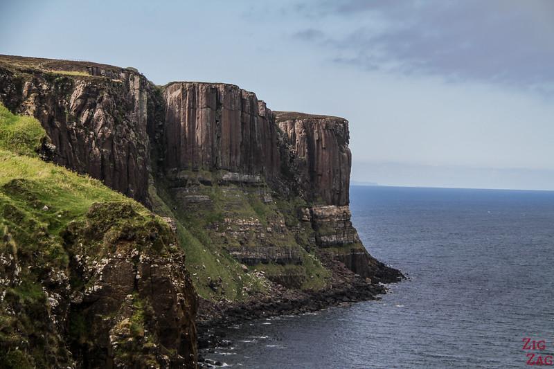 visiter Kilt Rock sur l'ile de Skye