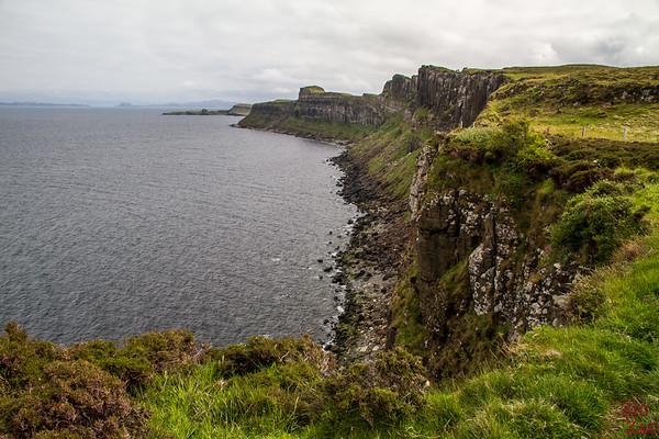 isle of Skye falaises