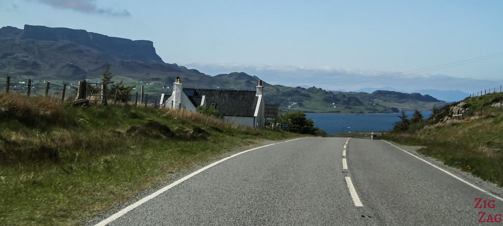 Coastal road Isle of Skye 2