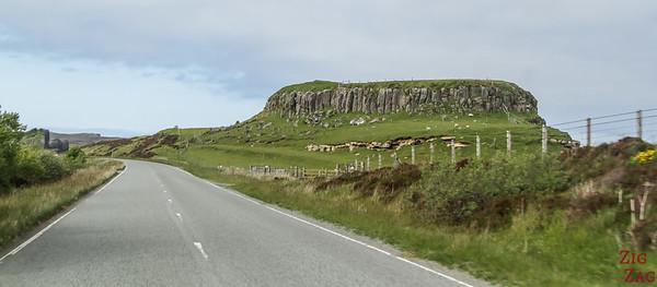 route côte ile de Skye