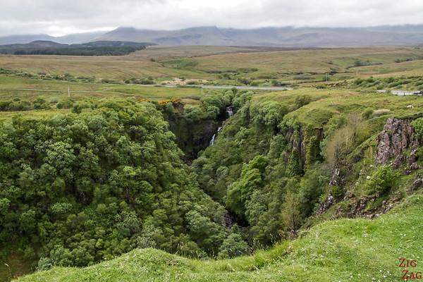 Cascade Lealt Falls Ile de Skye 2