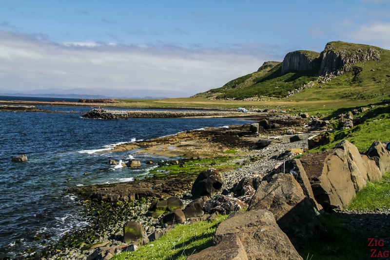 Skye island things to do - Staffin Beach