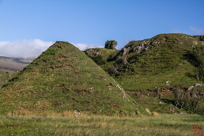 Fairy Glen Skye - pyramide mountains 4